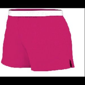Pink athletic Soffe shorts